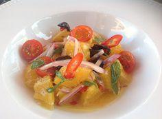 Denny Chef Blog: Insalata siciliana di arance e cipolla rossa con olive