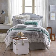 Mosaic Reversible Duvet Cover and Sham Set