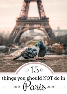 15 mistakes you easily make in Paris - and how to avoid them! Avoid those 15 biggest tourist traps in Paris and profit from our local tips and advices. Paris Travel Tips for everyone that wants to experience Paris like a lokal. Get to know the Paris tips Paris Tips, Paris Travel Guide, Europe Travel Tips, Travel Abroad, Travel Guides, Travel Packing, Bratislava, Budapest, Paris In September