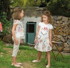 NIÑAS: MODA, MAQUILLAJE Y PEINADOS: VESTIDOS PARA NIÑAS DE AMAYA  – MODA INFANTIL COLECCIO ... | Pinned from Likaty.com (Collect and share ideas you like)