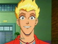 Martin from Martin Mystery. He's incredibly adorable and oh-so cute!