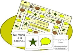 Phrase Interrogative, Cycle 3, French Immersion, French Class, French Language, Fractions, Filofax, Board Games, Game Boards