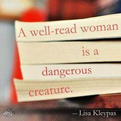 Well-Read Woman.