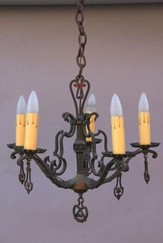 Beautiful 1920s spanish revival chandelier spanish revival beautiful 1920s spanish revival chandelier spanish revival antique chandelier and spanish aloadofball Images
