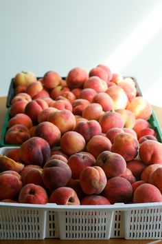 """What To Do With 200 Lbs of Fruit"" - Peach Jam flavors from Clockwork Lemon"