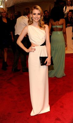 Emma Roberts in Michael Kors, 2011 Met Gala. Icon in training.
