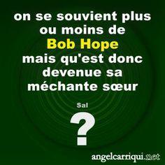 familles célèbres : Bob Hope ? …