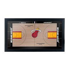 Trademark Global NBA Court Framed Graphic Art NBA Team: