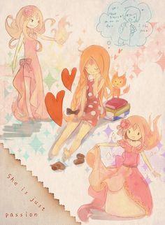 Flame Princess {Adventure Time}