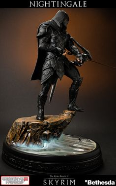 Elder Scrolls Nightingale Statue by Gaming Heads 6 << I want this right now