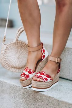 footwear #women sandals #summer sandals #heels #wedge heels
