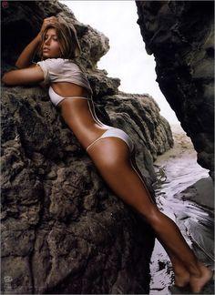 Big tit milf honey west in lingerie