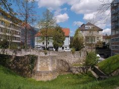 Medieval and Roman town walls of Regensburg, Germany
