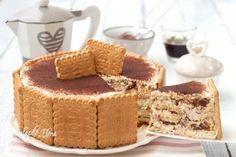 Torta a strati al caffè Moon Cake, Nutella, Gelato, Cake Cookies, Cheesecake, Good Food, Food Porn, Food And Drink, Favorite Recipes