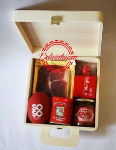 Pack regalo Rojo  www.deliciatessen.es  #deliciatessen