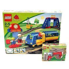 Lego DUPLO Eisenbahn / Zug Set + Weichen   Matti
