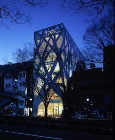 Toyo Ito. Tod's Omotesando Building, Tokyo. 2002–04. © Nacása & Partners Inc.