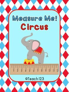 Circus Math Measurement Center: 2nd grade - Common Core (priced)