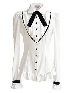 PrettyGuide Women Black Bow Crinkle Pleated Front Shirts Tops Blouse S US0 PrettyGuide http://www.amazon.com/dp/B00MCIVV9C/ref=cm_sw_r_pi_dp_QRbXub0AK8WKW