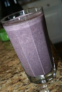 blueberry/spinach smoothie with walnut--- 2 cups spinach 1 cup plain yogurt with Stevia 1/2 cup skim milk 1 cup blueberries handful of walnuts T. flax seed