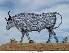 Image result for cattle grid sculpture