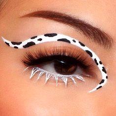 Indie Makeup, Edgy Makeup, Makeup Eye Looks, Eye Makeup Art, Crazy Makeup, Cute Makeup, Pretty Makeup, Skin Makeup, Makeup Inspo