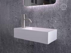 """Nordland 40"" wash basin from Copenhagen Bath."