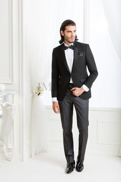 UGS 8025  #sposo #groom #suit #abito #wedding #matrimonio #nozze #nero #black