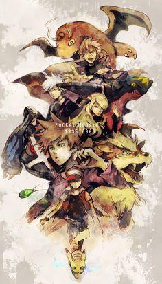 Nice anime artbook from Pokemon uploaded by S.D - up to 2009 Pokemon Ships, Pokemon Fan Art, Cute Pokemon, Pokemon Pokemon, Pokemon Stuff, Pokemon Images, Pokemon Pictures, Lugia, Anime Neko