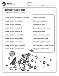 To Learn Spanish Kids How To Use Spanish Learning Videos Phrases Learning Spanish For Kids, Teaching Spanish, Learn Spanish, First Grade Classroom, Spanish Classroom, Learning Sight Words, Spanish Language, Reading Comprehension, Worksheets