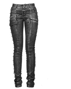 New PUNK Rave Heavy Metal Rock Gothic Leather pants K-170 ALL STOCK IN AUSTRALIA #PunkRave #Leather