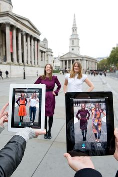 augmented reality app. The future of Retail if you ask us! www.fashiondisruptor.com
