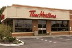 Tim Horton's for their ice capps and berry fruit smoothies