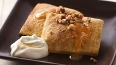 The Pillsbury Bake-off $1 million dollar winner! - Pumpkin Ravioli with Salted Caramel Whipped Cream