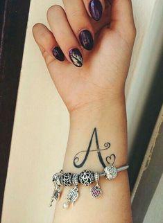 wrote it 😁😁 Modern Mehndi Designs, Henna Designs, Tattoo Designs, Body Art Tattoos, New Tattoos, Tatoos, Mehendi, Tattoo Alphabet, Alphabet Letters Design