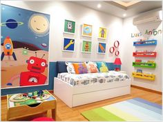 10 Awesome Above Headboard Decor Ideas for Your Kids Room