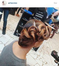 Ballroom hair – Famous Last Words Dance Hairstyles, Undercut Hairstyles, Unique Hairstyles, Vintage Hairstyles, Wedding Hairstyles, Hair Undercut, Updo Hairstyle, Wedding Updo, Celebrity Hairstyles