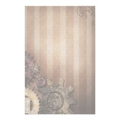 Steampunk Stationery - Soft wheels of Industry