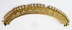 Peigne diadème 1er Empire Napoléon pomponne et perles comb tiara peineta jewel | eBay