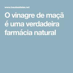 O vinagre de maçã é uma verdadeira farmácia natural