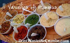 {Yummy} Recipe: Hummus (Plus 10 Variations) « Don't Waste the Crumbs!Don't Waste the Crumbs!
