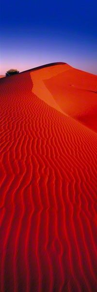 """CINNABAR SANDS"" - SIMPSON DESERT, NORTHERN TERRITORY, AUSTRALIA - © 2011 Peter Lik Fine Art Photography"