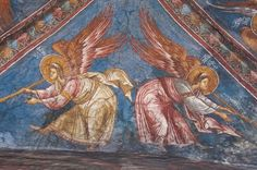 VK is the largest European social network with more than 100 million active users. Order Of Angels, Angel Images, Byzantine Icons, Saints, Design Inspiration, Painting, Christ, Angel Art, Pictures