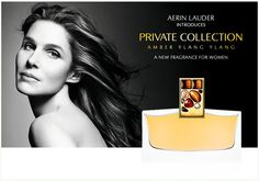 Estee Lauder has released new luxury perfume - Estee Lauder Private Collection Amber Ylang Ylang. Read more about this luxury fragrance. Estee Lauder Fragrances, New Fragrances, Parfum Victoria's Secret, Aerin Lauder, Perfume Ad, Victoria Secret Fashion Show, After Shave, Amber, Collection