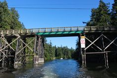 Pender Canal Between North & South Pender Islands, Gulf Islands, BC