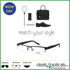Match Your Style#deals4opticals#http://bit.ly/1LpFA7t