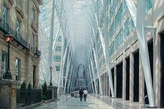 Allen Lambert Galleria, Toronto, Canada