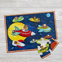 Up and Away 20-Piece Puzzle  | The Land of Nod