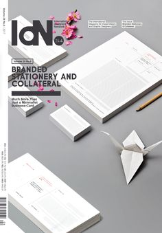 IdN v24n4: Branded Stationery & Collateral — Much More Than Just A Minimalist Business-Card