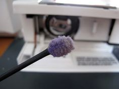Dining Room Empire: Lint Tool to quick-clean your sewing machine